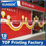 wholesale advertising die cut vinyl sticker printing ,bumper stickers for wall/car decals D-0620