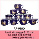 Belly Shape Promotional Ceramic Large Drinking Cups for Wholesale Items