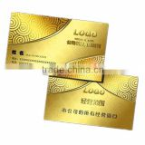 Printing business card,gold foil business card in China