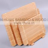 """3 pieces of Bamboo Cutting Board for cutting different food Bamboo Chopping Board with Sets""                                                                                                         Supplier's Choice"
