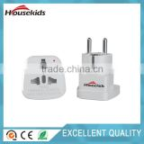 Schuko Plug Adapter Type E/F for Germany, France, Europe, Russia & more - High Quality - CE Certified - RoHS Compliant