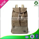 Vintage Men Canvas Knapsack Casual Rucksack travel backpack