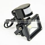ir floodlight led sensor light ce rohs approved led lighting 10 watt sensor LED flood light
