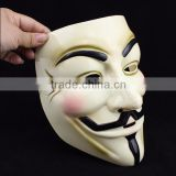 2015 Classic top sell Halloween PVC V For Vendetta Anonymous Mask Fawkes Mask