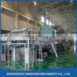 Dingchen NEW 2800mm 80 ton per day using recycle paper,wood pulp for kraft paper machinery