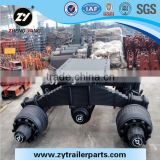 28T Trailer Parts Bogie Suspension For Sale