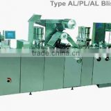 DPP-160/250F Hot-band Travel Adjustable Flat-plate Type Plastic-AL Blister Packing Machine