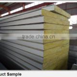 color steel glass wool sandwich panel for warehouse project                                                                         Quality Choice
