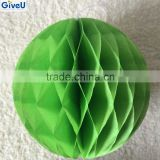 2016 Christmas Green Color Paper Decoration Supplies Paper Ornament for XMAS Party Decoration