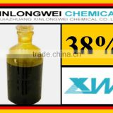 China Supplier water treatment metal etching industrail grade 38% price Iron Chloride Ferric Perchloride Solution