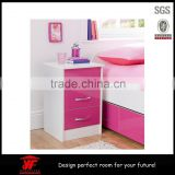Eco-friendly Kids furniture Mini wood babies used mirrored chest of drawers