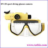 Waterproof 720P HD Sports diving Glasses camera 30M underwater HD 720P (1280*720@30 frame) HD video recording