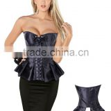 www.sex.com womens fashion sexy ruched Petticoat Gothic Retro Punk corset Bodice with tie bowknot