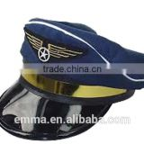 Wholesale party hat good quality airline pilot hats HT2049