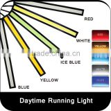 2-Piece Waterproof Aluminum High Power 6W 6000K Xenon Slim COB LED DRL Daylight Driving Daytime Running Light for All Vehicles