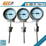 WSS bimetallic pipe temperature gauge thermometer import from china
