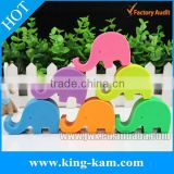 FDA silicone phone holder elephant design