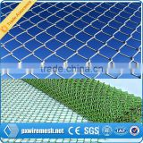 Hebei galvanized used chain link fence for sale/used chain link fence for sale/electro galvanized chain link fence for garden