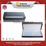 Luxury leather ink pen display gift boxes for sale(WH-0193-ML)