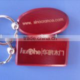 engraved wood key chain/red wooden key chain/fashion design wooden keyring/lovely wooden key holder