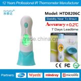 Multifonction Thermometer HTD8206 Baby infrared Thermometer Ear & Forehead thermometer