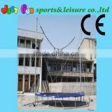 single bungee jumping trampolines for sale,trampoline bungee, bungee jumping trampoline