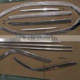 STAINLESS STEEL CAR ACCESSORIES FOR Ford Everest 2016 WINDOW TRIM,WINDOWS FRAME TRIMS, PILLAR COVER