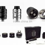 Prompt delivery Cyclon RDA Authentic Fumytech with 2 colors - Black, Stainless Steel vape tank with good look and design