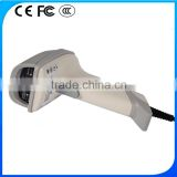 Black/White/Grey 1d laser handheld barcode scanner                                                                         Quality Choice