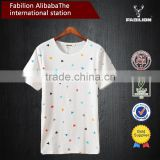 OEM china factory new style hot selling short sleeve o neck cute lady t-shirt