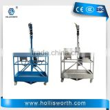Elevated work platform 630kgs loading capacity with LTD63 hoist Suspended powered platform