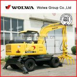 China excavator with rotating grapple 7800kg DLS880-9A