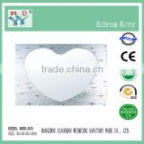 Made in China heart shaped wall mirrors