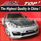 High quality PU/Carbon Fiber Body Kits for Porsche 2011-2013 Panamera 970 wide body panamera 970 kit