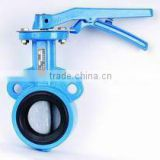 Double Flanged Rubber Lined Butterfly Valve
