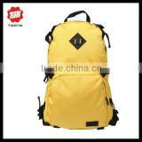 Bright yellow pig patch cheap travel backpack fanny pack wholesale
