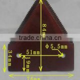mower blade,flail mower blades,agricultural machinery, cultivator blade,rotary cutting blade