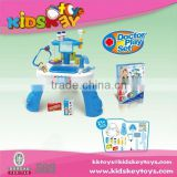 Plastic doctor toys hospital play set doctor play set