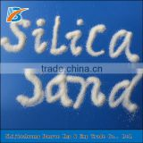 white color Shape and glass making Application vietnam silica sand-BanYue&Free Sample