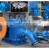 High efficiency water turbina generating unit/1000kw Pelton turbine/Hydropower plant
