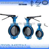 high quality 1/2 inch wafer butterfly valve