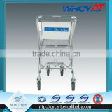 Customers 4 Wheel hand aluminium alloy trolley/children car shopping