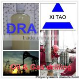 Drag reducing agent for oil & gas well water base fracture
