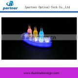 Factory Price High Quality Plastic Led Lighting Bottle Glorifier For Advertising Display