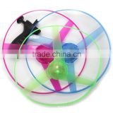 New Speical Colorful Fashion Hot LED Light Magic Outdoor Toy Flying Saucer Disc Led Frisbee UFO Kid Toy