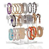 beautiful 3 tiers clear acrylic bracelet display,acrylic bangle display,acrylic jewelry display stand