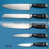 strong black color ABS handle knife