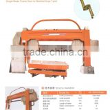 Hinge Type Single Blade Saw For Cutting Stone Block Marble Cutter Stone Cutting Machine For Sale