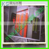 Energy saving full color HD LED video display screen led curtain display glass window led display