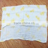 Wholesale swaddle wrap newborn fabric organic muslin cotton baby blankets